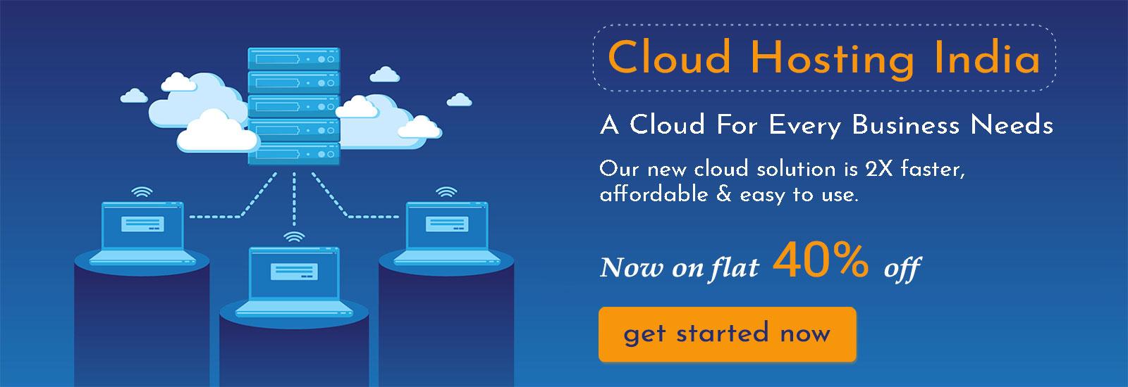 Buy cheap cloud hosting india